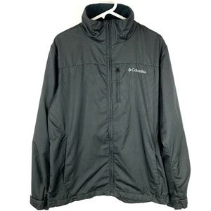 Columbia Fleece Lined Polyester Camping Jacket